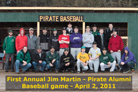5612 Jim Martin-Pirate Alumni baseball 040211